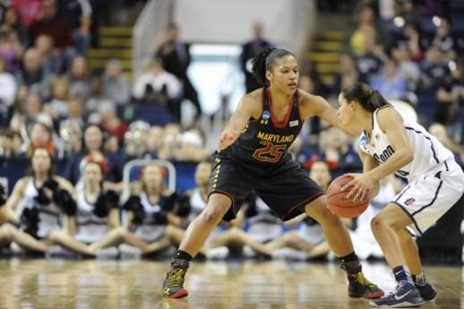 Alyssa Thomas. Photo: Maryland Athletics.