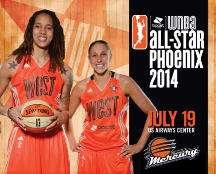Brittney Griner and Diana Taurasi. Image: WNBA.