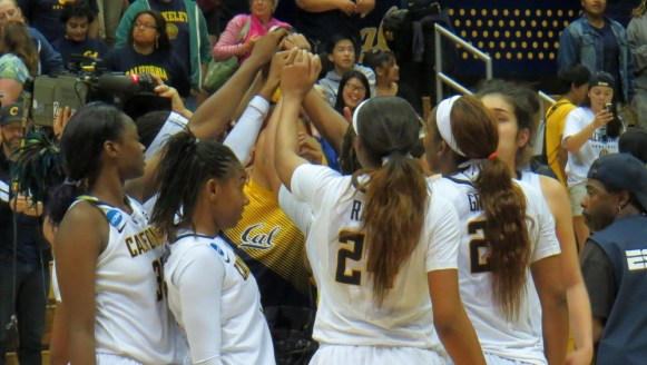 BERKELEY, Calif. (March, 20, 2015) - Cal defeats Wichita State in the NCAA first round.