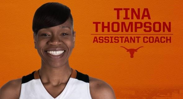 Tina Thompson. Image: Texas Athletics.