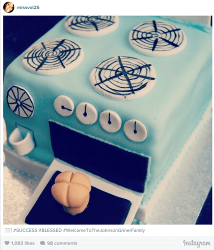 Instagram post by Glory Johnson.