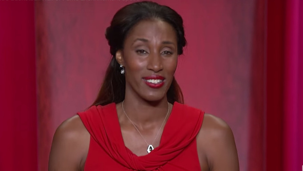 Lisa Leslie's induction into the Naismith Hall of Fame.