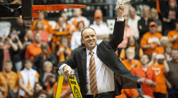 Oregon State head coach Scott Rueck. Photo: Pac-12 Networks.