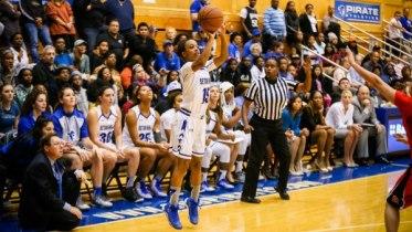 2015-16 Seton Hall Women's Basketball. Photo: Seton Hall Athletics.