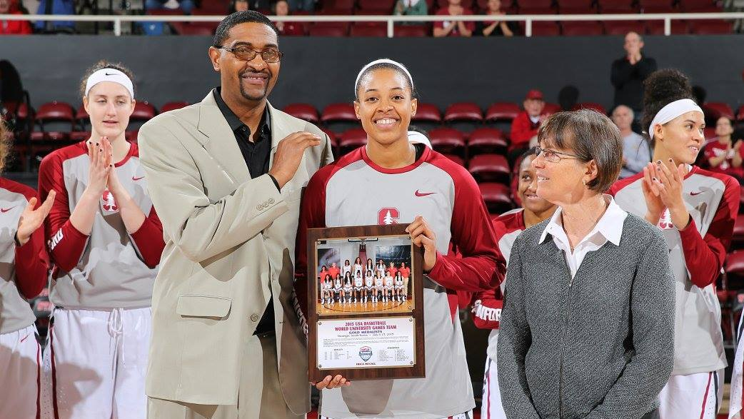 Erica McCall earns family bragging rights, leads No. 12 Stanford over Cal State Bakersfield, 83-41