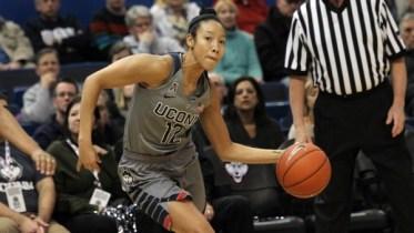 Saniya Chong. Photo: UConn Athletics.