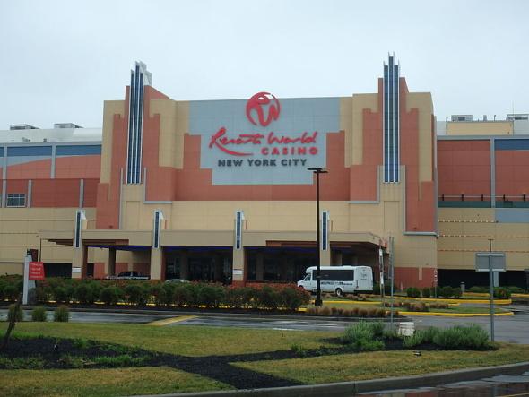 Resorts World Casino, Jamaica, NY.