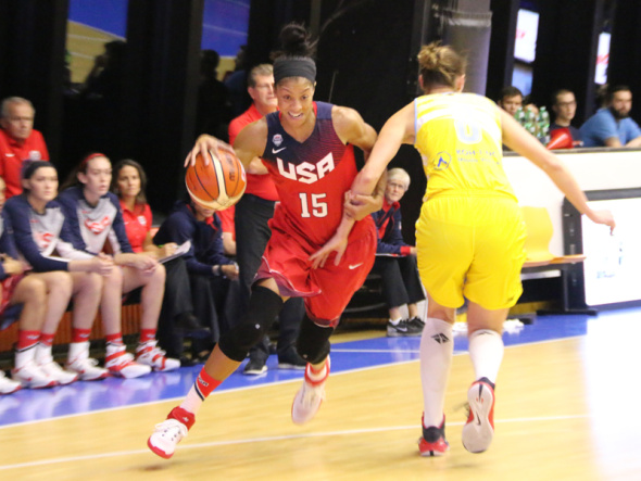Behind a double-double of 20 points and 11 rebounds from Candace Parker, the 2015 USA Basketball Women's National Team (4-0) concluded its four-game European tour with an 85-53 victory over reigning EuroLeague champion ZVVZ USK Prague on Saturday night in Prague, Czech Republic.