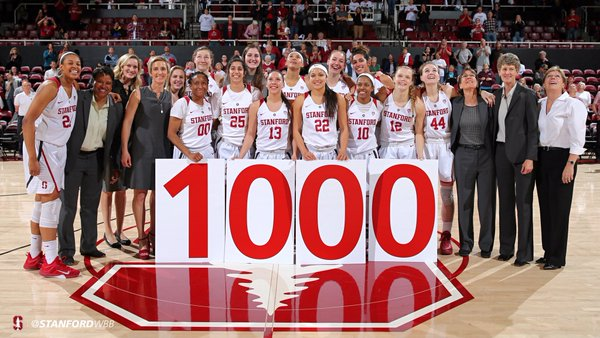 No. 13 Stanford downs No. 7 Oregon State in historic victory, 76-54, program reaches 1,000 wins