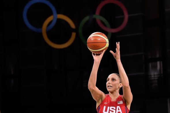 August 8, 2016. Diana Taurasi, USA vs. Spain. Photo: FIBA.