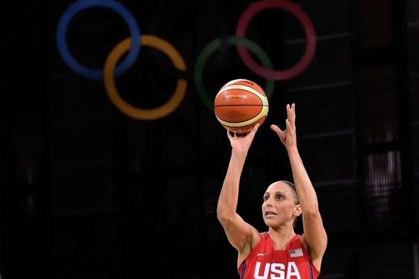 August 8, 2016. Diana Taurasi, USA vs. Spain. Photo: FIBA.