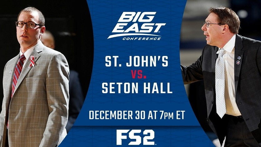 Fox Sports to give fans all-access commercial-free broadcast of St. John's at Seton Hall with coaches mic'd up