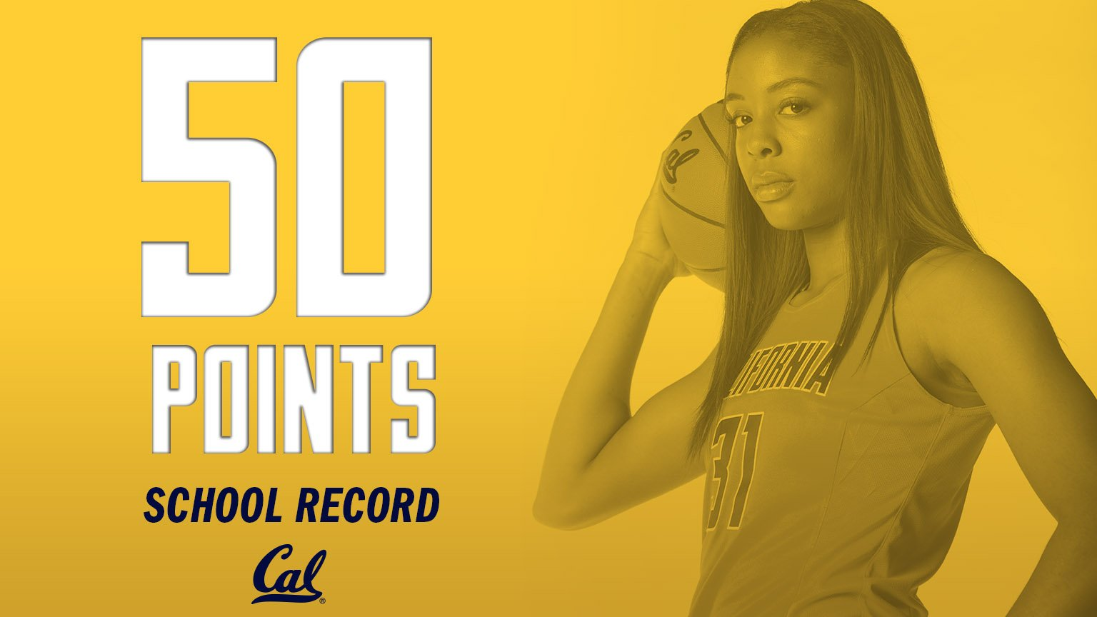 Kristine Anigwe's record-breaking 50 points helps Cal rout Sacramento State, 97-73