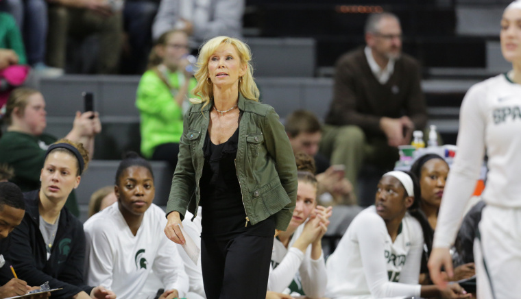 Michigan State head coach Suzy Merchant to take a medical leave of absence