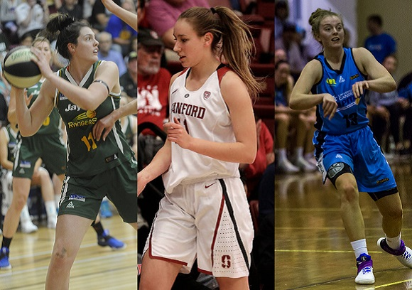 Australia's World University Games Team includes six NCAA athletes and two participants in Opals camp