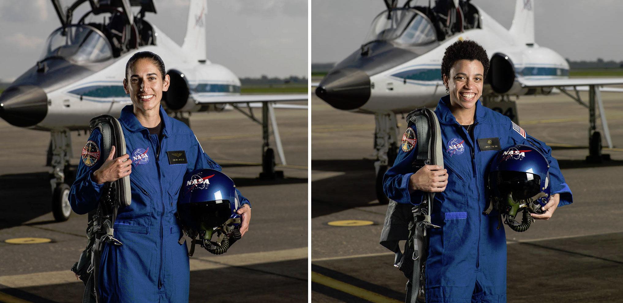 NASA's 2017 astronaut class includes former MIT player Jasmin Moghbeli and Caltech asst. Jessica Watkins