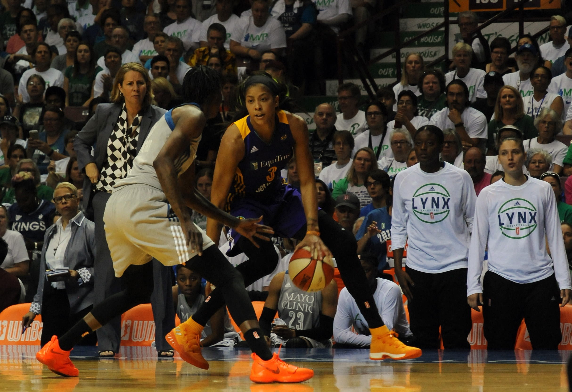 Lynx and Sparks preview Game 3 of the WNBA Finals