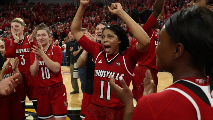 Sport Tours International/Hoopfeed NCAA DI Top 25 Poll for Jan. 16, 2018: Louisville back at No. 2; Georgia enters at No. 24