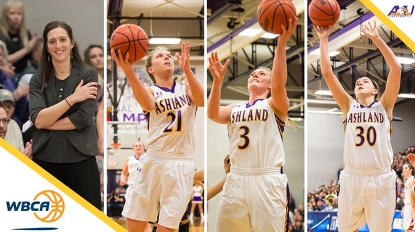 Ashland sweeps DII WBCA honors: Robyn Fralick is the Coach of the Year, Jodi Johnson is Player of the Year