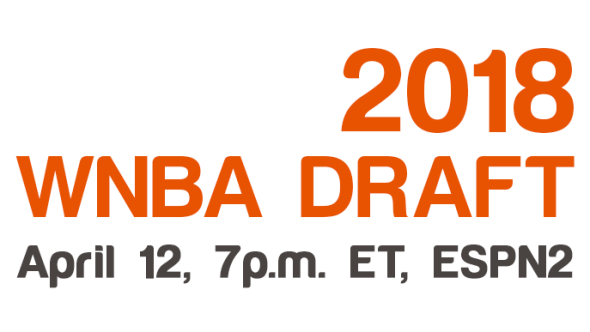 WNBA Draft, Thursday, April 12, 7pm ET