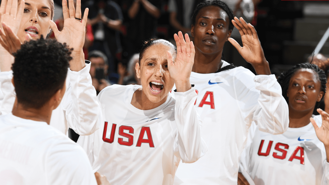 Led by Sylvia Fowles, USA defeats China 83-46 in exhibition