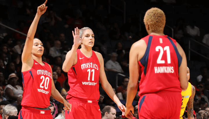 Mystics make magic for 82-75 win against Indiana to open up the season, rookies get their feet wet