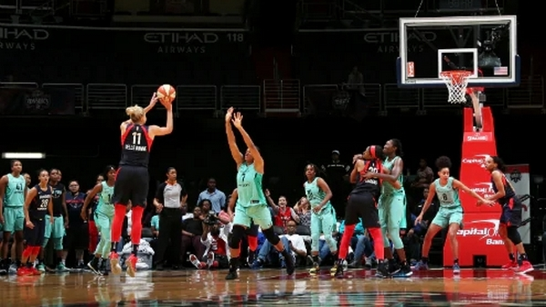 Elena Delle Donne leads late rally for buzzer-beating 80-77 Washington win over New York, Mystics improve to 10-5