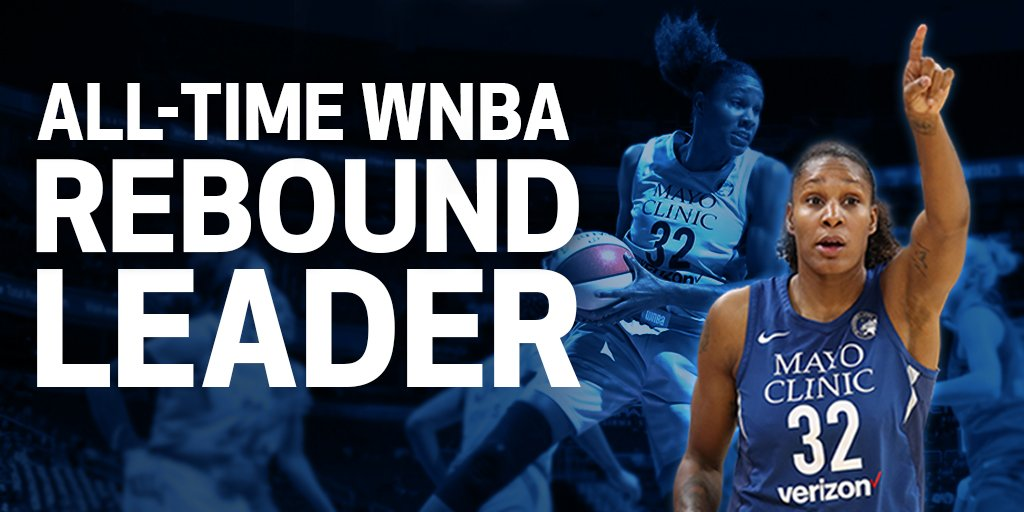 Lynx's Rebekkah Brunson hits milestone to become WNBA's all-time leading rebounder in win over Sparks