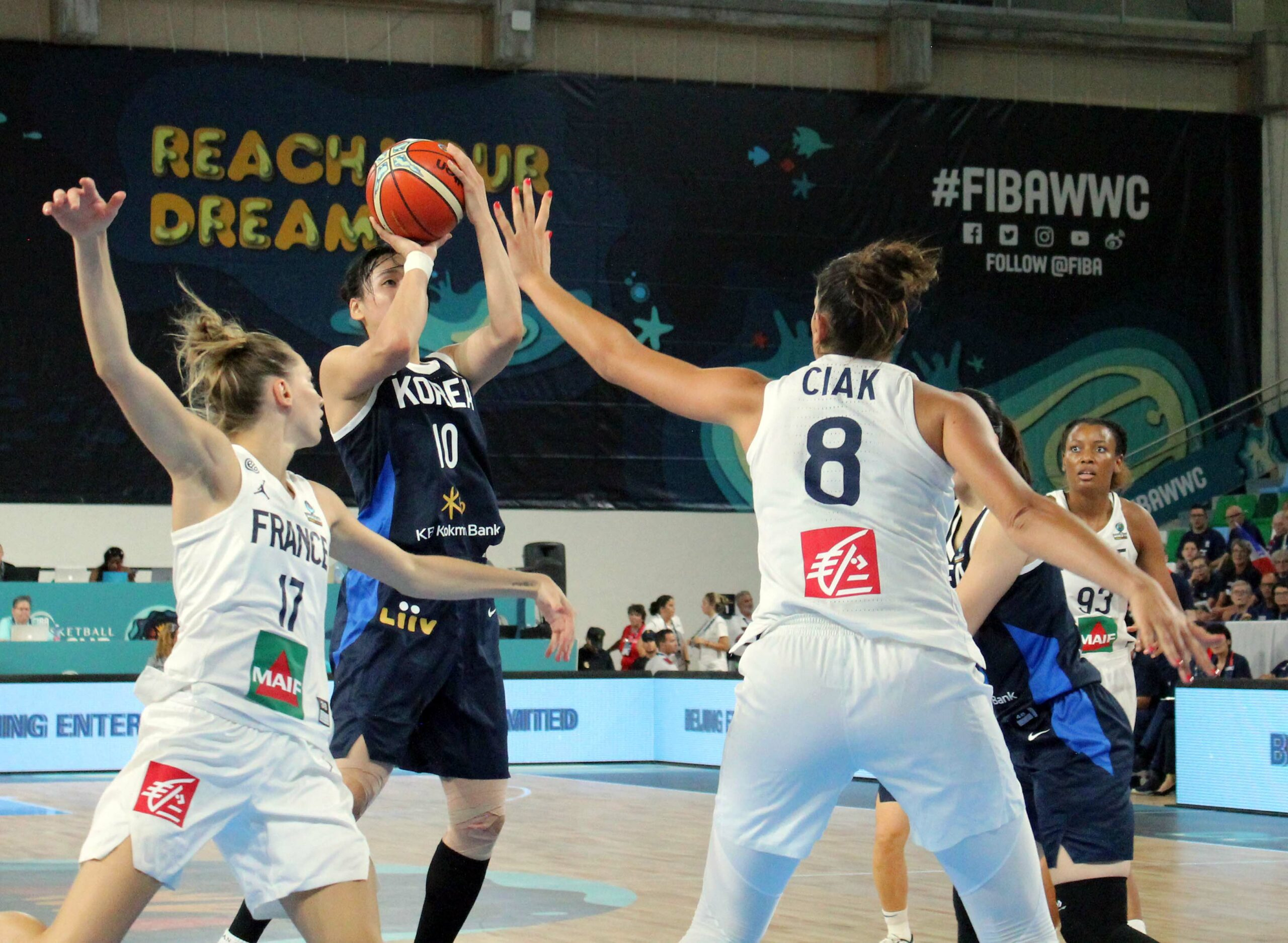 France fends off Korea 89-58 in FIBA World Cup first-day action