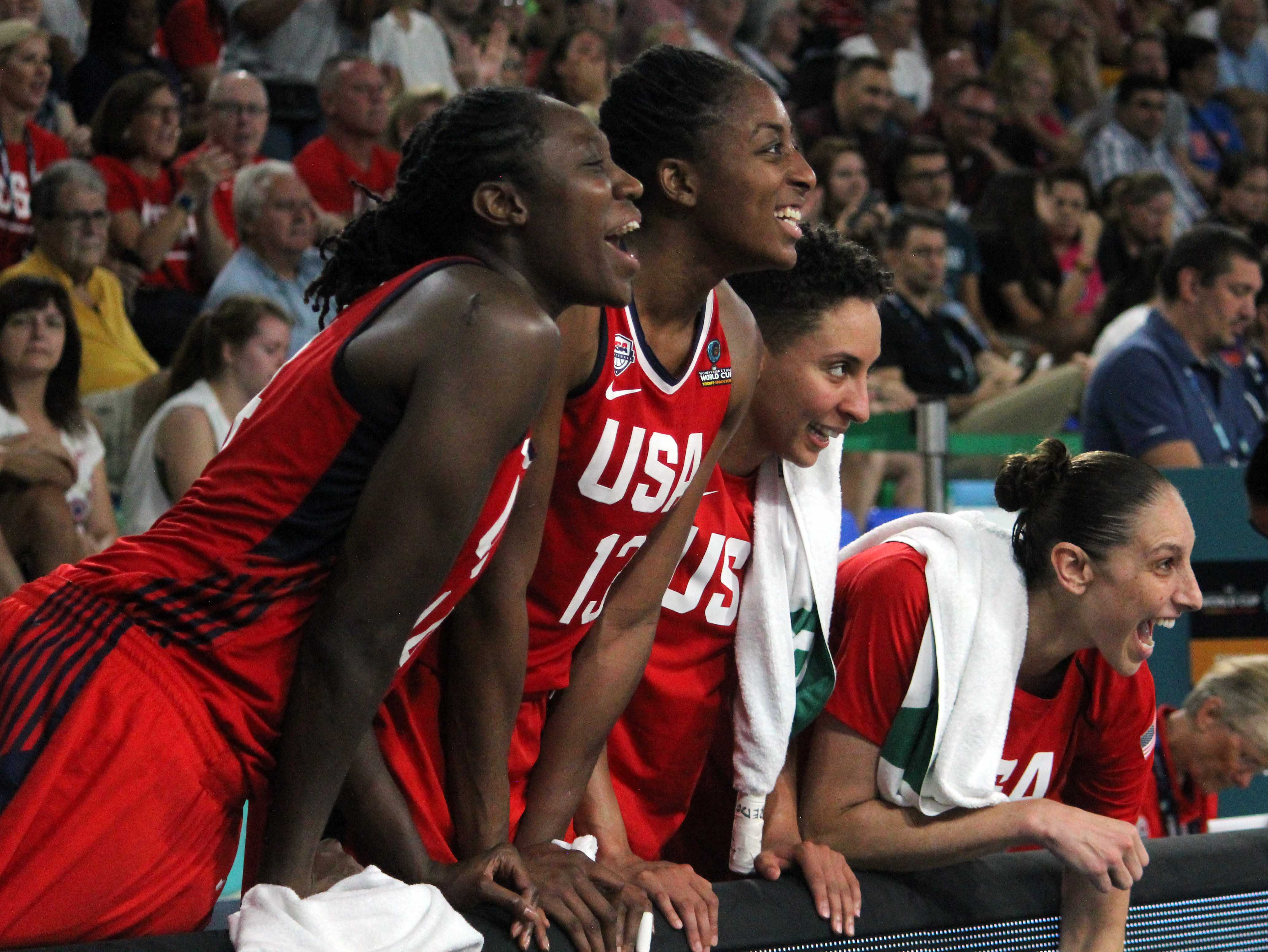 How long can the USA hang on to the top spot in women's basketball?