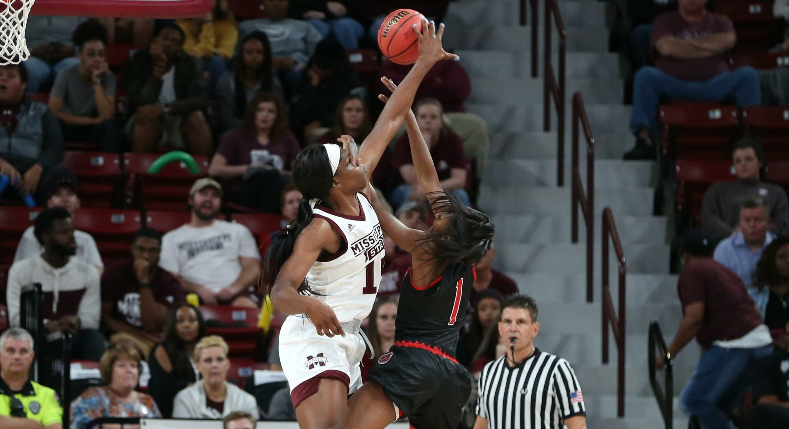 Led by Teaira McCowan, Mississippi State opens season with a victory over Southeast Missouri, 88-53
