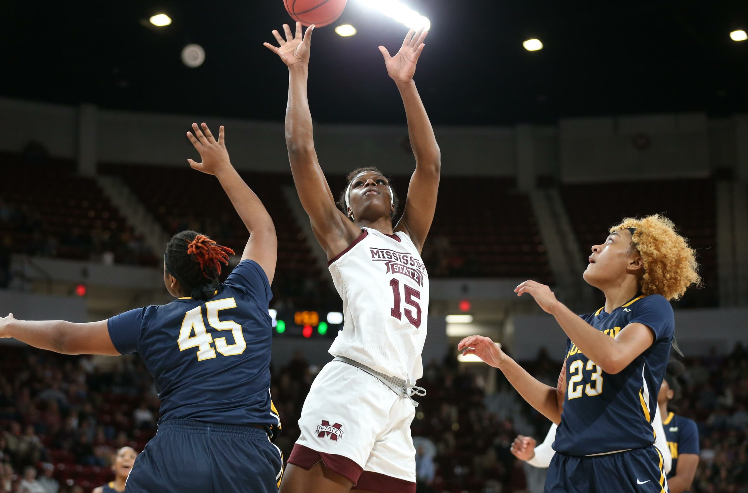 Mississippi State raises National Finalist banner before cruising to 110-38 win over Coppin State