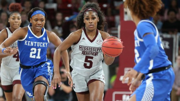 Jan. 6, 2019 (Starkville, MS) - Mississippi State beats Kentucky. Photo: MSU Athletics.