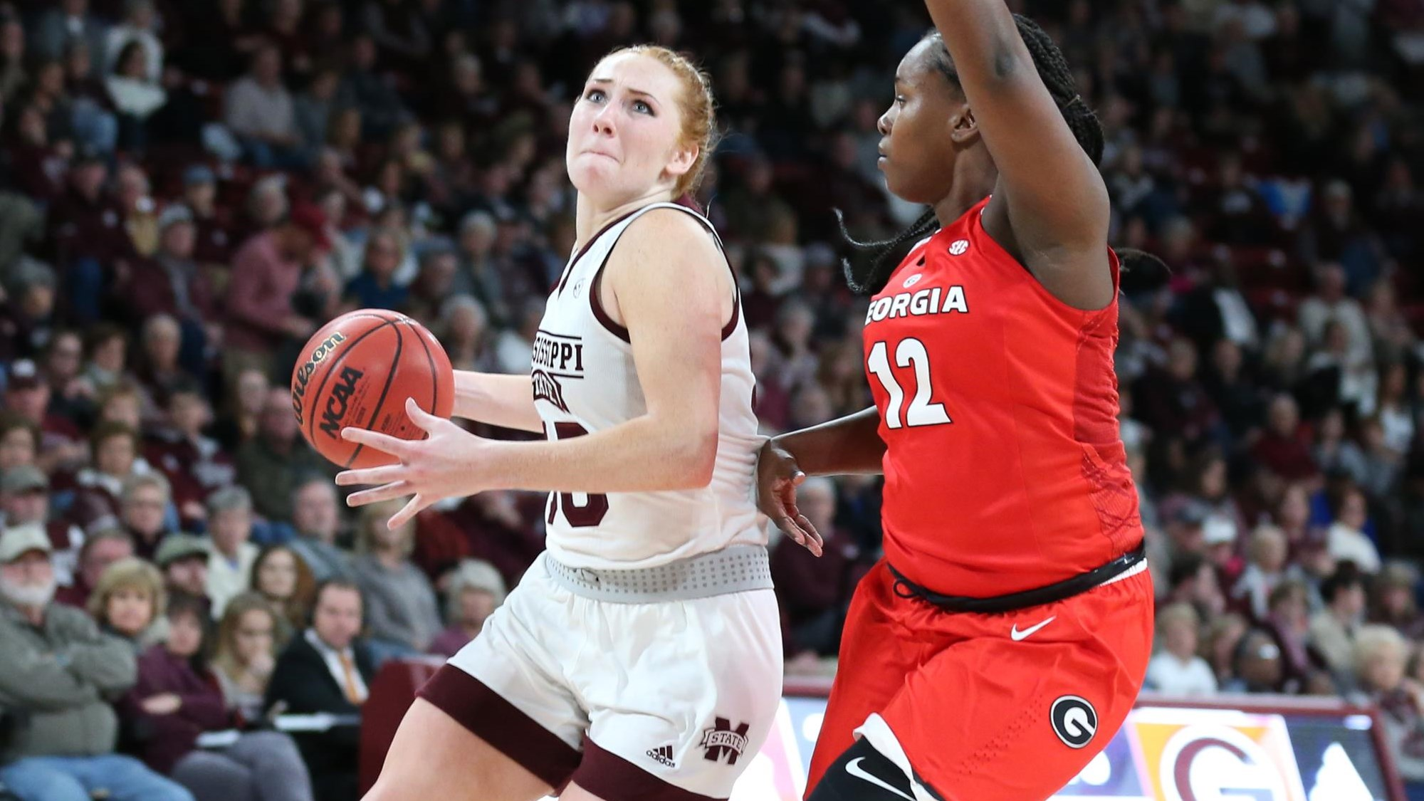 Mississippi State's Australian phenom Chloe Bibby breaks loose to give her team edge over Georgia