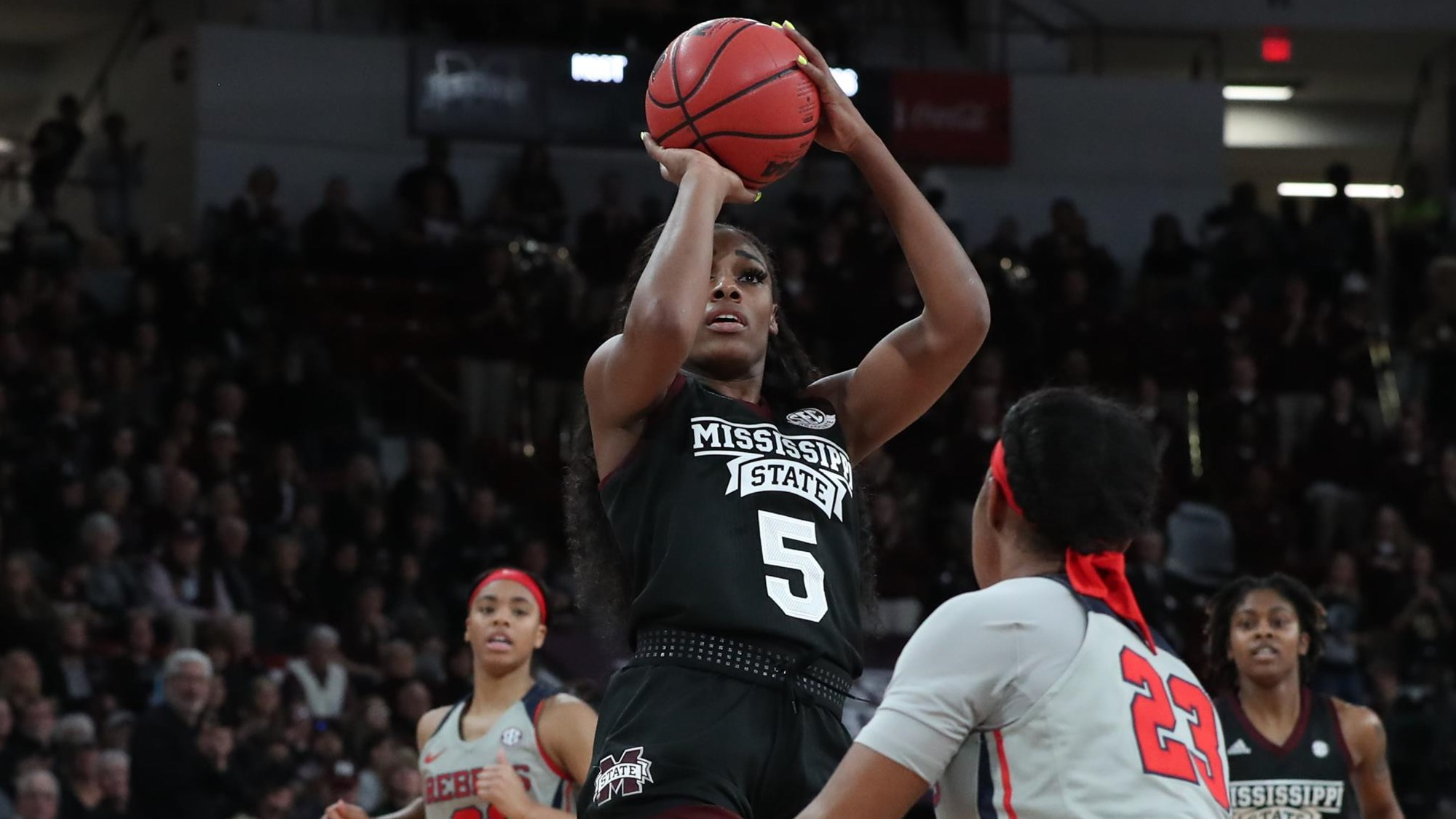 Fans enjoy rivalry antics and nods to history as Mississippi State routs Ole Miss, 80-49