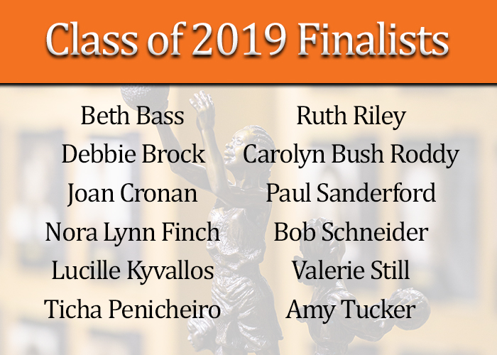 Women's Basketball Hall of Fame announces finalists for 2019 class