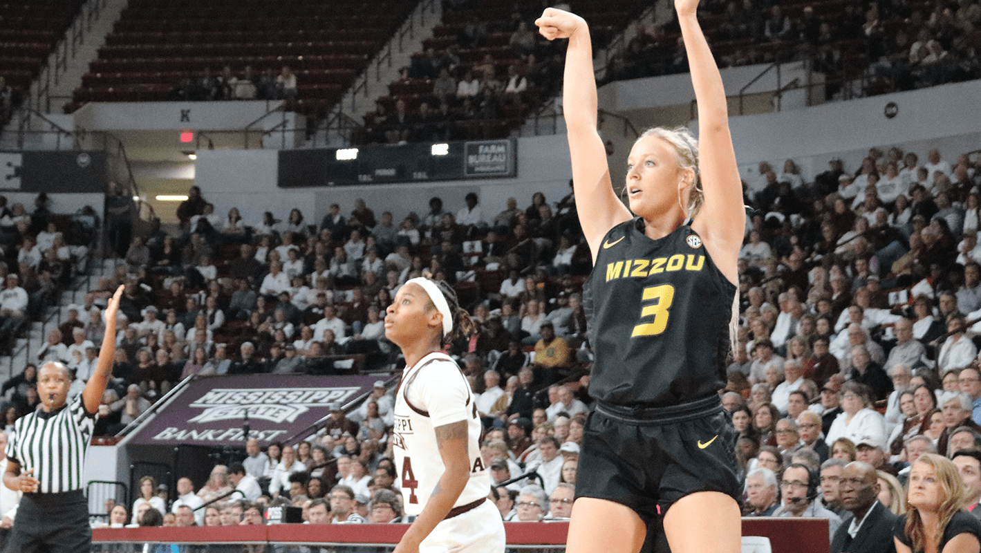 Sophie Cunningham leads as Missouri stuns Mississippi State, 75-67