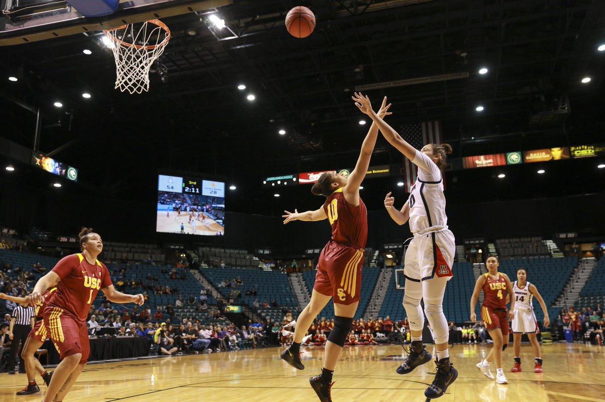 Aari McDonald reaches scoring milestone, Arizona trounces USC in Pac-12 tourney 76-48