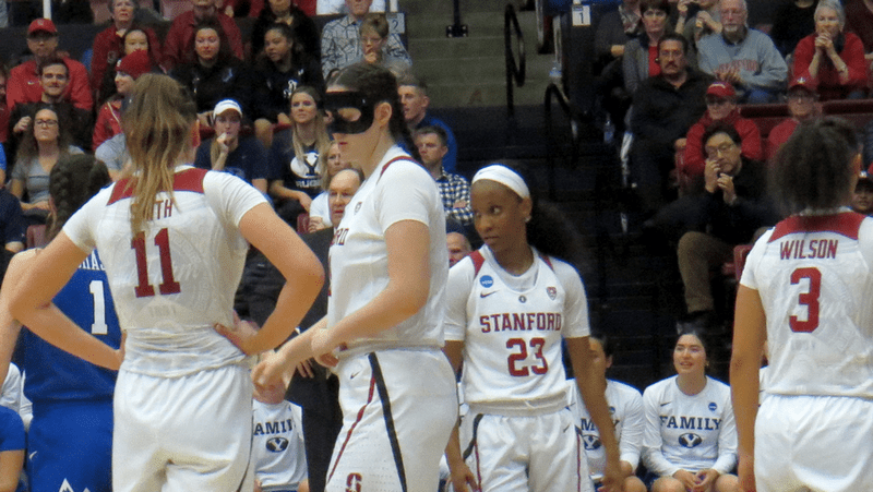 Stanford holds off defensive-minded BYU 72-63 to earn 12th consecutive trip to the Sweet 16