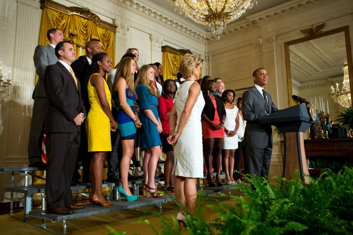 Baylor accepts invitation to the White House