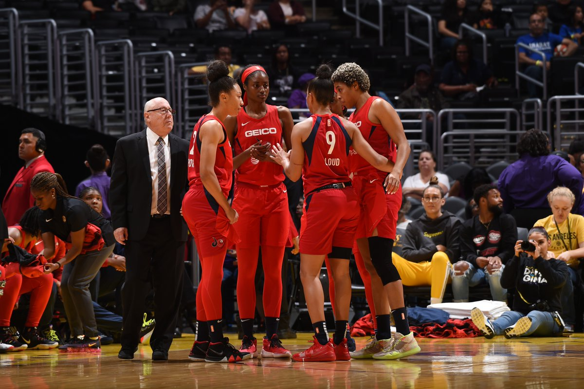 Washington begins road trip with rout of Los Angeles, 81-52, spoils Candace Parker's season debut