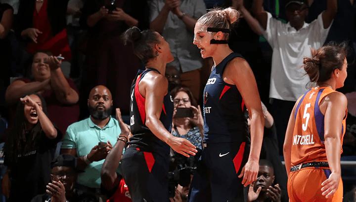 Washington survives Phoenix 99-93, Elena Delle Donne drops season-high 33 points