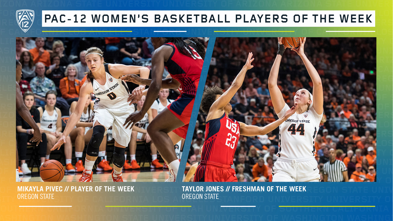 Oregon State sweeps Pac-12 Player of the Week Awards from opening week