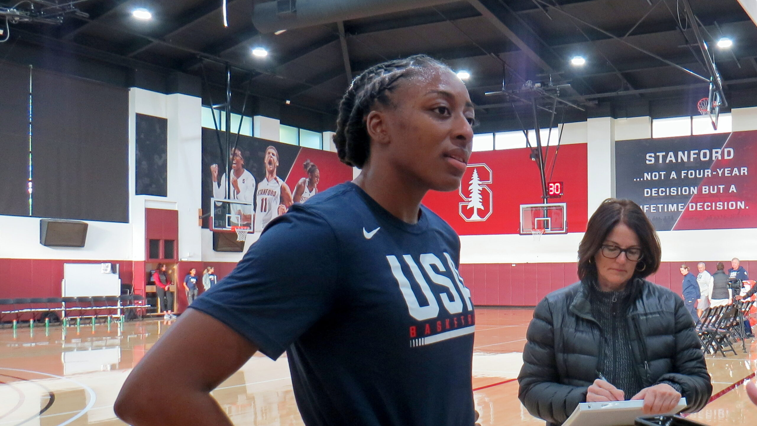 WNBPA re-elects Nneka Ogwumike as president, Layshia Clarendon as first vice president