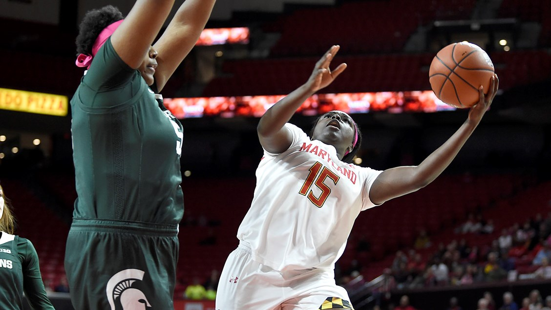 Maryland blows past Michigan State 94-53 for seventh straight win