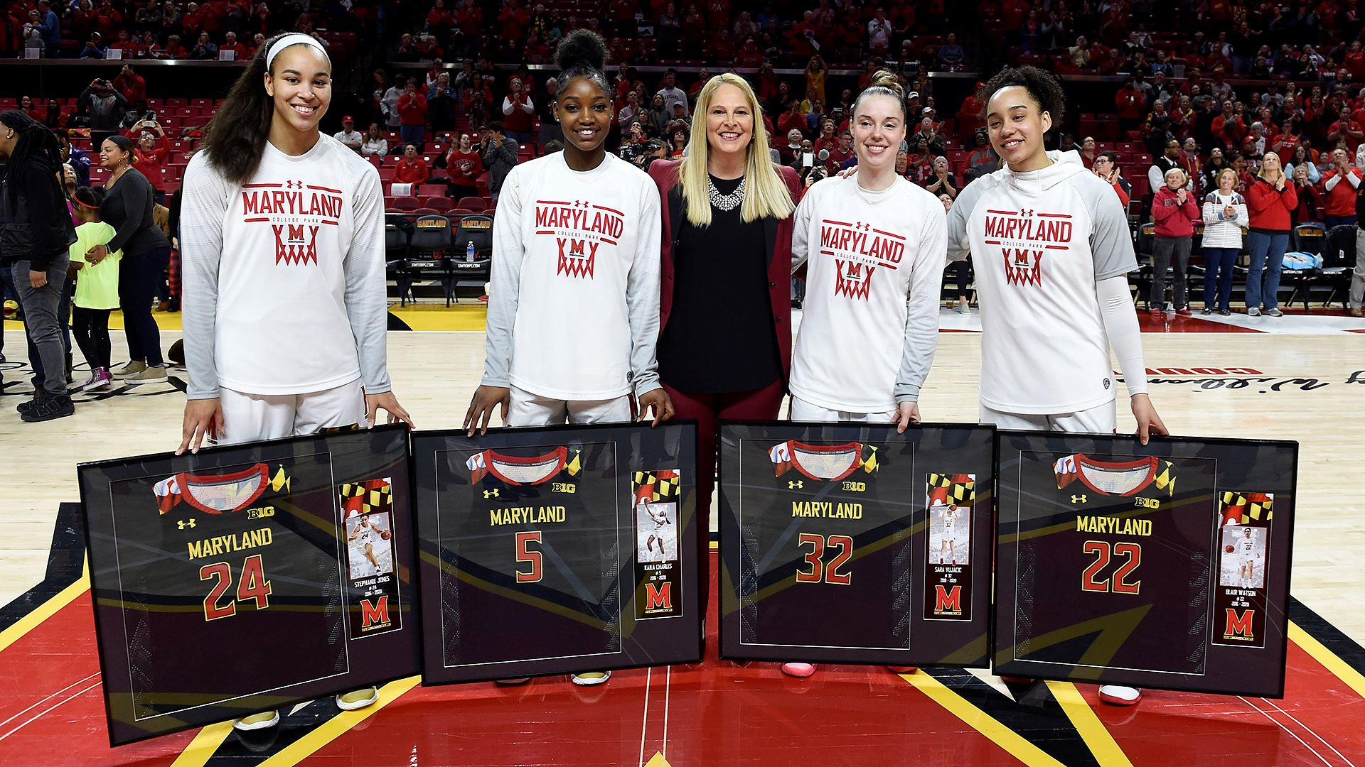 Maryland continues to roll, tops Purdue 88-45 on Senior Night