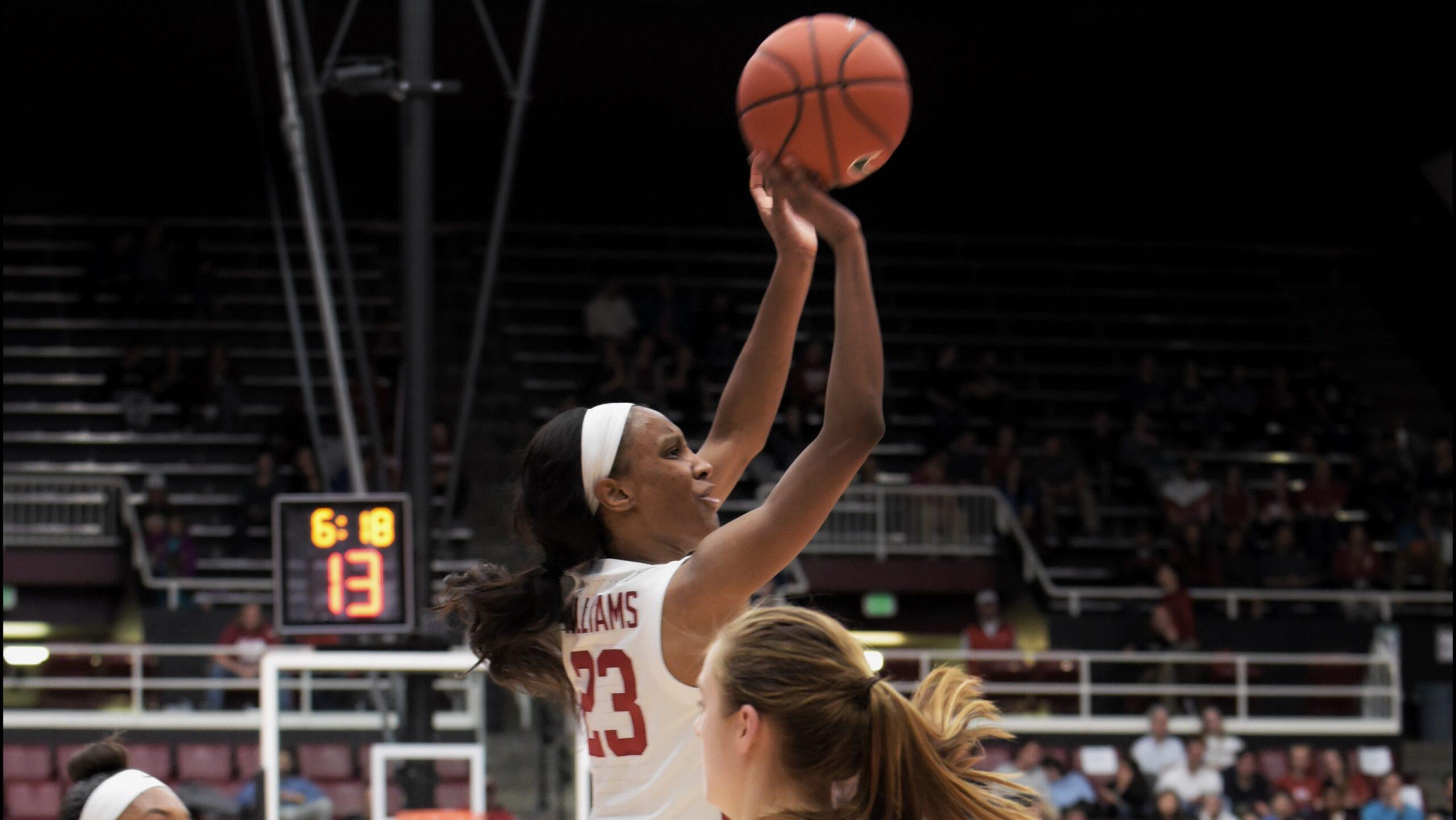 Led by Kiana Williams, Stanford edges Oregon State 63-60