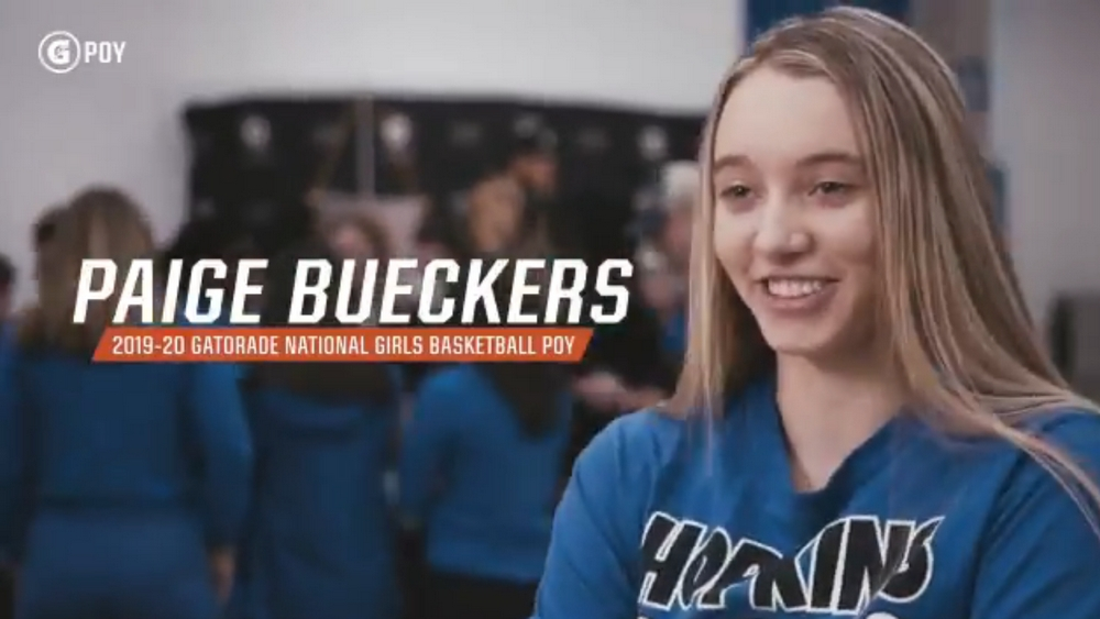 Paige Bueckers named the 2019-20 Gatorade National Girls Basketball Player of the Year