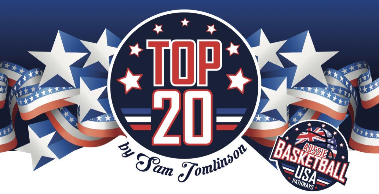 "The Aussie Basketball USA ""TOP 20"" Class of 2022"