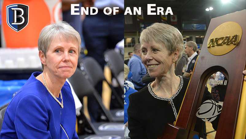 With 1,058 career wins, Bentley Hall of Fame Basketball Coach Barbara Stevens announces retirement